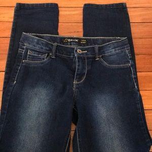 Jordache super skinny girls size 12s jeggings.